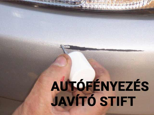 Autó fényezés Javító Stift házilag